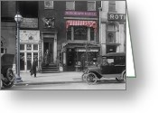 Twenties Greeting Cards - The Brooklyn Eagle Greeting Card by Stefan Kuhn