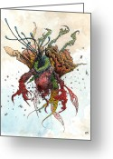 Sea Life Art Greeting Cards - The Brylar  Greeting Card by Ethan Harris