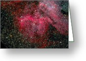 Carina Nebula Greeting Cards - The Carina Nebula Greeting Card by Stocktrek Images