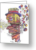 Abstract Jewelry Greeting Cards - The Celebration Greeting Card by Robert Wolverton Jr