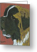 David Greeting Cards - The Chewy Lovin of One Riley Borum Greeting Card by David  Hearn