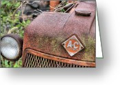 Fauquier County Greeting Cards - The Classic Allis Greeting Card by JC Findley