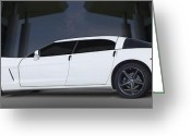 4 Greeting Cards - The Corvette Touring Car Greeting Card by Mike McGlothlen