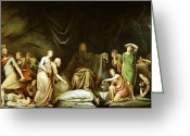 1860 Greeting Cards - The Court of Death Greeting Card by Rembrandt Peale