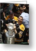 Stanley Cup Greeting Cards - The Cup Greeting Card by Greg DeBeck