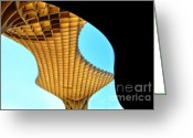 Andalucia Greeting Cards - The Curves of the Metropol Parasol Greeting Card by Mary Machare