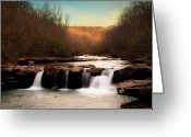 Tamyra Ayles Greeting Cards - The Days End Greeting Card by Tamyra Ayles