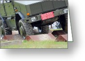 Belgian Army Greeting Cards - The Dingo 2 Mppv Of The Belgian Army Greeting Card by Luc De Jaeger