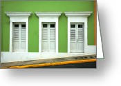 Puerto Rico Greeting Cards - The Doors Greeting Card by Timothy Johnson