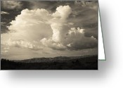 California Landscapes Greeting Cards - The Drama Greeting Card by Laurie Search