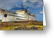 Duke Of Lancaster Greeting Cards - The Duke Greeting Card by Adrian Evans