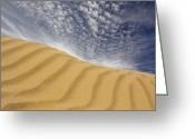 Sand Digital Art Greeting Cards - The Dunes Greeting Card by Mike McGlothlen
