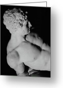 Male Physique Greeting Cards - The Dying Gladiator Greeting Card by Pierre Julien