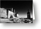 Delaware River Greeting Cards - The Electric Company Greeting Card by Bill Cannon