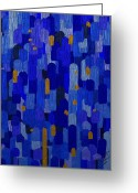Abstract Greeting Cards - The Element of Water Greeting Card by Mimulux patricia no