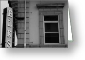 Drain Greeting Cards - The Elks Building in Jacksonville Greeting Card by Robert Ulmer
