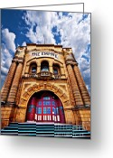 Unused Greeting Cards - The Empire Theatre Greeting Card by Meirion Matthias
