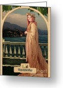 Prediction Greeting Cards - The Empress Greeting Card by John Edwards