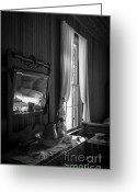 Restless Light Photography Greeting Cards - The Empty Bed Greeting Card by Lynn Palmer