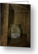 Vintage Photographs Greeting Cards - The Endless Jar  Greeting Card by Jerry Cordeiro