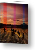 Amazon Greeting Cards - The Expulsion Greeting Card by Mark Myers