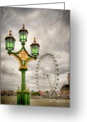"\\\""photo Manipulation\\\\\\\"" Greeting Cards - The Eye is the Lamp of the Body Greeting Card by Donald Davis"