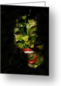 Bruster Greeting Cards - The Eyes of Ivy Greeting Card by Clayton Bruster