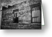 Jerry Cordeiro Greeting Cards Posters Greeting Cards - The Facade  Greeting Card by Jerry Cordeiro