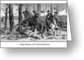 Gettysburg Greeting Cards - The Fall Of Reynolds Greeting Card by War Is Hell Store