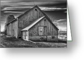 Guywhiteleyphoto.com Greeting Cards - The Fargo Project 12232b Greeting Card by Guy Whiteley