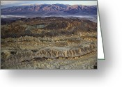 Desolate Landscapes Greeting Cards - The Foothills Of Amargosa Canyon Greeting Card by Michael Melford