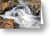 Beltway Greeting Cards - The Fountain Greeting Card by JC Findley
