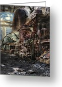 Abandoned  Digital Art Greeting Cards - The Gates of Paradise Greeting Card by Geo Romolo