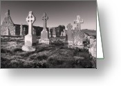Ireland Greeting Cards - The Ghosts of Ireland Greeting Card by Robert Lacy