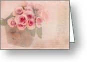 Sentiments Greeting Cards - The Gift of Love  Greeting Card by Sandra Rossouw