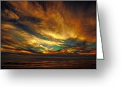 Photograpg Greeting Cards - The Glory Greeting Card by James Heckt