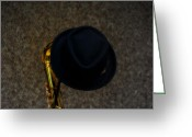 Brass Instruments Greeting Cards - The Gold Stand Greeting Card by Steven  Digman