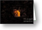 Indiana Scenes Greeting Cards - The Golden Idol Greeting Card by David Lee Thompson
