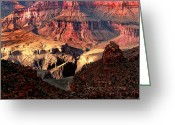 Prendergast Greeting Cards - The Grand Canyon I Greeting Card by Tom Prendergast