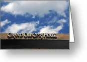 Music Legends Greeting Cards - The Grand Ole Opry Nashville TN Greeting Card by Susanne Van Hulst