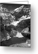 Abbot Greeting Cards - The Great Divide bw Greeting Card by Steve Harrington