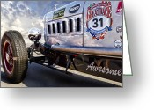 Buffalo New York Greeting Cards - The Great Race 2012 Greeting Card by Peter Chilelli
