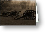 Antietam Greeting Cards - The Great Silence   Greeting Card by Steven  Digman