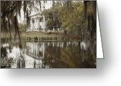 Louisiana Greeting Cards - The Greenwoood Plantation Home Greeting Card by J. Baylor Roberts