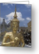 Helmet Greeting Cards - The Grounds Of The Grand Palace Greeting Card by Richard Nowitz