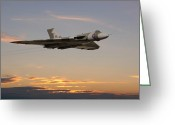 Jet Digital Art Greeting Cards - The Guardian Greeting Card by Pat Speirs