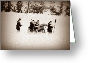 Cannons Greeting Cards - The Guns of Gettysburg Greeting Card by Bill Cannon