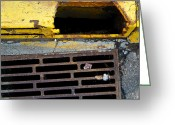 Drain Greeting Cards - The gutter Greeting Card by Jesse Pickett