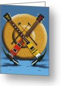 Drum Sticks Greeting Cards - The Hammer Greeting Card by Mike McGlothlen