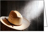 Diffused Greeting Cards - The Hat Greeting Card by Olivier Le Queinec